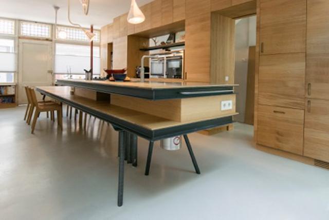Moderne houten keuken made by merlin made by merlin meubelmaker